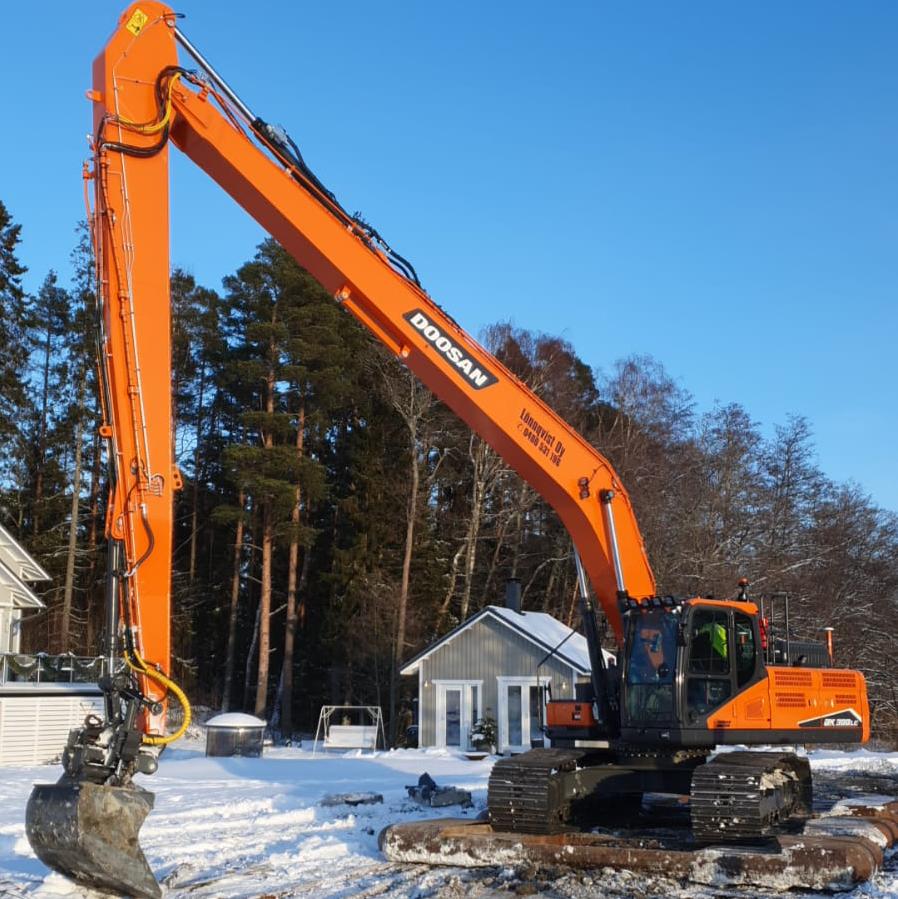 Doosan pitkäpuomi - Kaiivnkoneurakointi Lönnqvist oy - kalusto