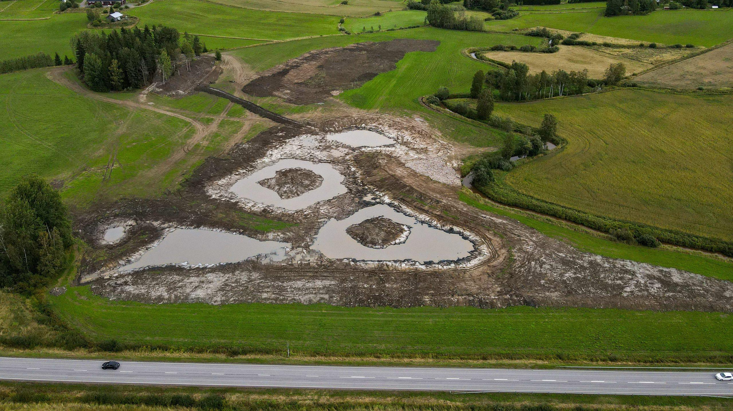 Kosteikkoprojekti Vihdissä - Lönnqvist Oy